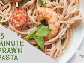 15 Minute Prawn Pasta