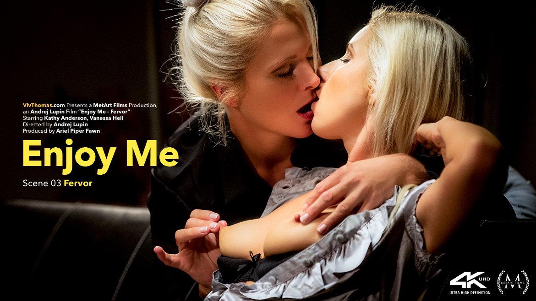 Enjoy Me Episode 3 - Fervor (Kathy Anderson, Vanessa Hell) - Viv Thomas