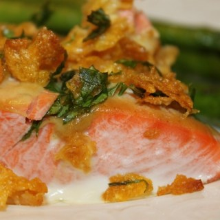 Baked Honey Dijon Salmon