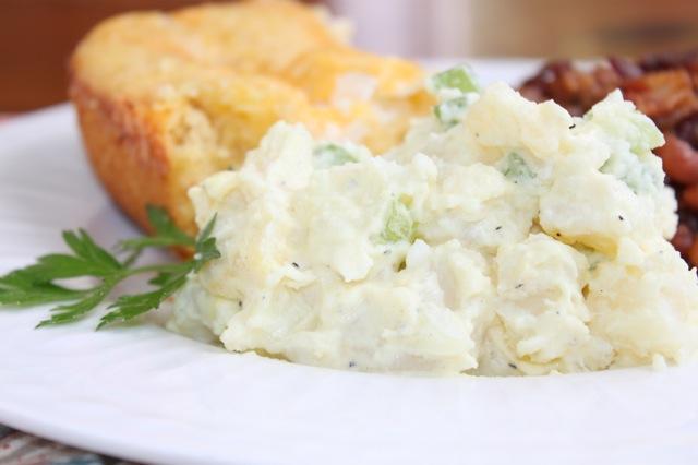 Delicious Potato Salad | www.vixenskitchen.com