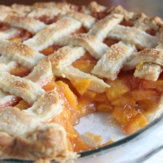 Award Winning Fresh Peach Pie