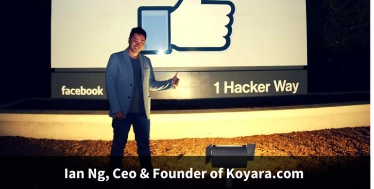 Ian Ng, Ceo & Founder of Koyara.com