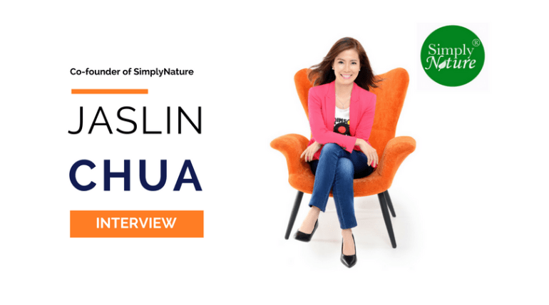 Jaslin Chua, Co-founder of SimplyNature