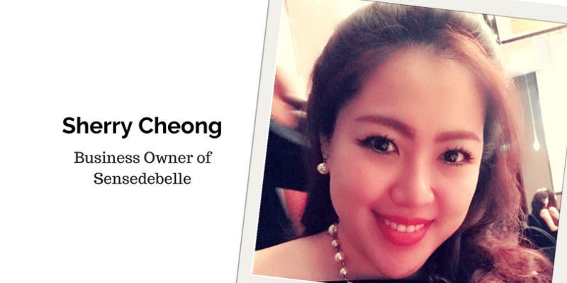 Sherry Cheong, Business Owner of Sensedebelle