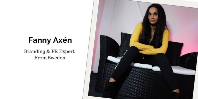 Fanny Axen, Music Entrepreneur