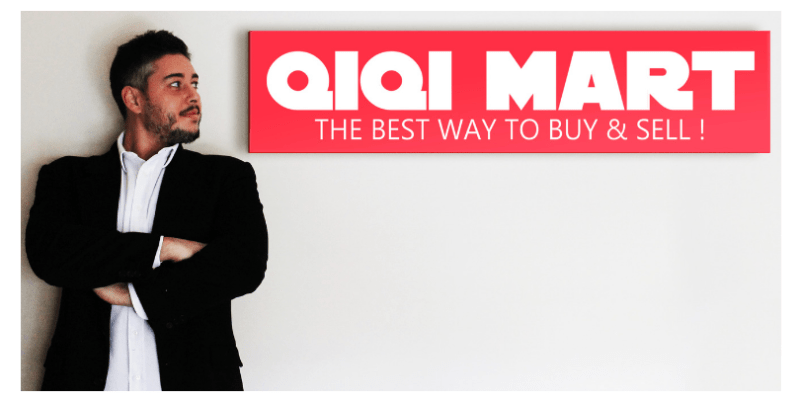 Gianmario De Simone, CEO and founder of QIQI MART