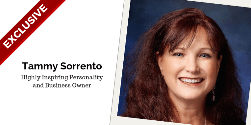 Tammy Sorrento Highly Inspiring Personality and Business Owner
