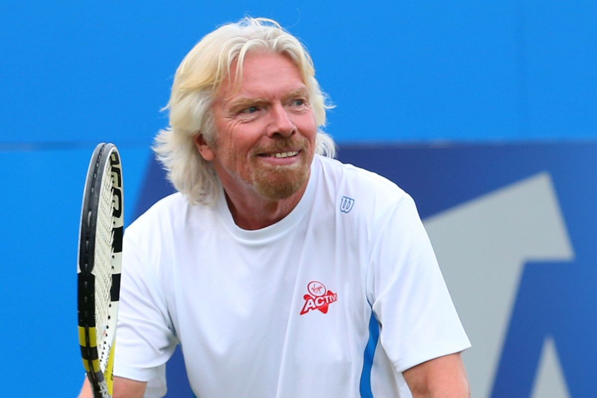 Seriel Entrepreneur Richard Branson