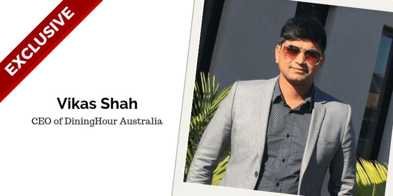 Vikas Shah, CEO of DiningHour Australia