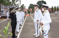 Commodore Rahul Vilas Gokhale takes over INS Circars,Vizagvision....