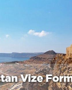 Yunanistan vize başvuru formu