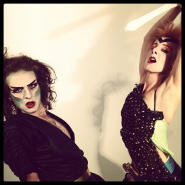Video Shoot with TUSK and Carrie Gates - Berlin 2012