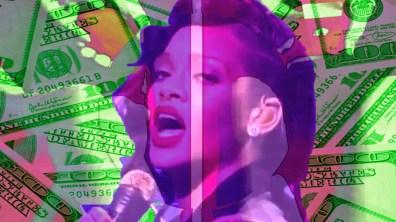 Rihanna Diamonds - ca$hpunk remix video by VJ Carrie Gates, 2012