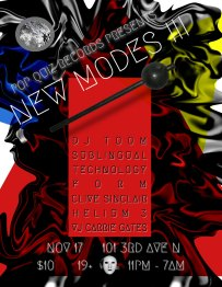 Pop Quiz Presents NEW MODES !!! - poster by Jon Vaughn and Carrie Gates