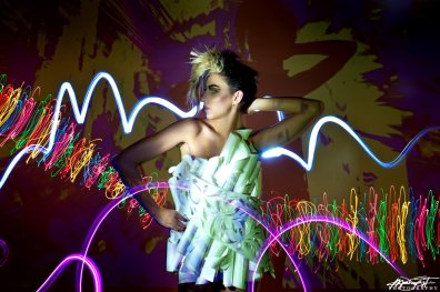 Light Painting Project - November 2013 - Mark Tiu, Laurie Brown, Carrie Gates, Lisa Hallam, Alicia Soulier, Courtney Haley