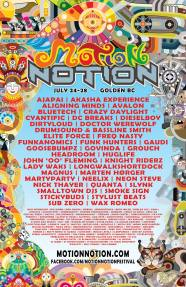 Motion Notion Festival 2014 - Official Poster