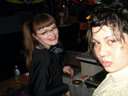 DJ Carrie Gates / Lady Gates with Shavonne Somvong - Dance Dance Revolution 2008. Photo by Shavonne Somvong.