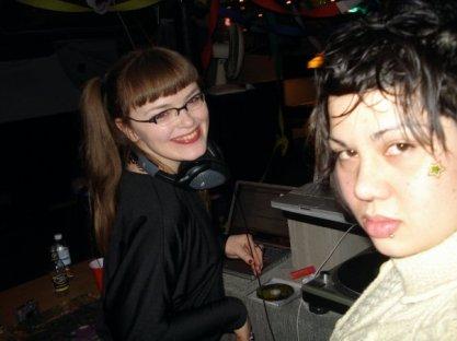 DJ Carrie Gates / Lady Gates with Shavonne Somvong - Dance Dance Revolution 2008. Photo by Shavonne Somvong.