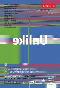 Unlike Exhibition 2016 in France - Glitched Poster