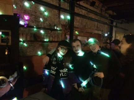 Deep Vibes and Dirty Breaks - Nov. 4 2016 - Carrie Gates, Mason Cole, Dane Hanson, and Nathan Steadman - Pic by Marty Famine