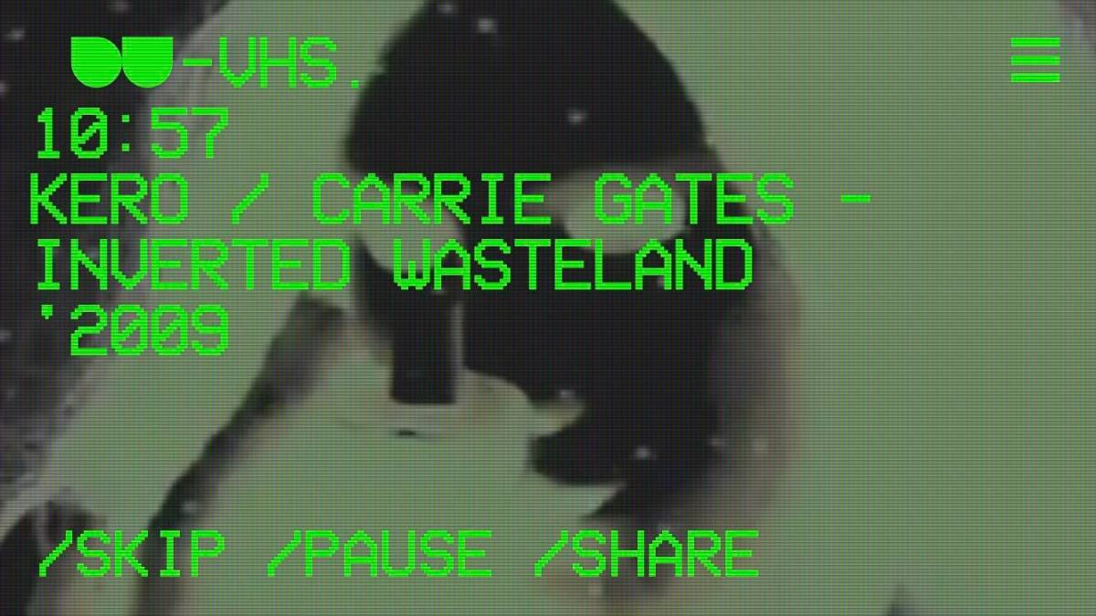DU-VHS - Detroit Underground App - Inverted Wasteland by Carrie Gates and Kero