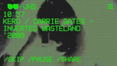 DU-VHS - Detroit Underground App - Inverted Wasteland by Carrie Gates and Kero
