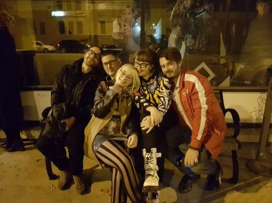 Rave at the Capitol in Saskatoon - Pic features Jonathan Epp, Nathan Steadman, KaylaGroshuk, Carrie Gates, and Arek Syko