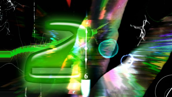 """Timeworms in Space"" Video Still by Carrie Gates"