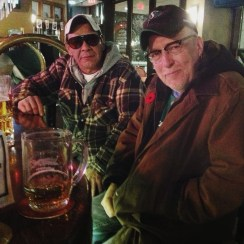 Larry Bear and Craig Nelson at Mulberry's - Photo by Carrie Gates 2014