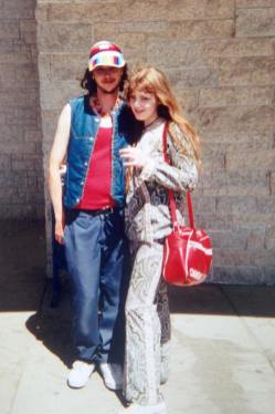 Jordan Poniatowski and Carrie Gates after a rave in Saskatoon in 1997