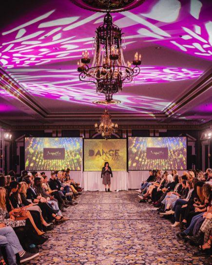 Saskatoon Fashion and Design Festival Runway Show Featuring VJ Carrie Gates
