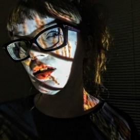 Carrie Gates - Tarot Card Projection Portrait