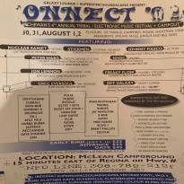 Connect Festival Flyer 1999