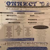 Connect Festival Flyer 1999