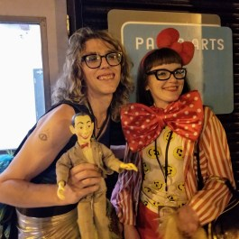Elise Pallagi and Carrie Gates at the 20 Year Anniversary Reunion Rave in Saskatoon at PAVED Arts - July 29, 2019