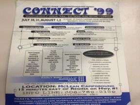 Connect Festival 1999 Flyer