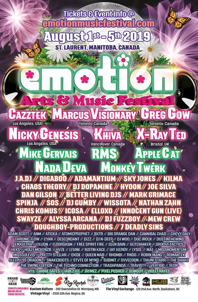 Emotion Festival 2019 Bliss Stage VJ Performance by Carrie