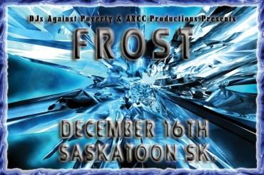 Frost - Flyer for Saskatoon Rave