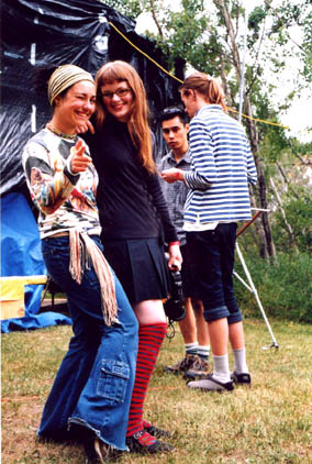 Carrie Gates and Saratonin at the CONNECT Festival near Regina in 2004