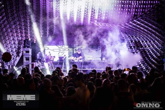 MEME Festival 2016 - VJ Carrie Gates Performing at The Cube in Winnipeg