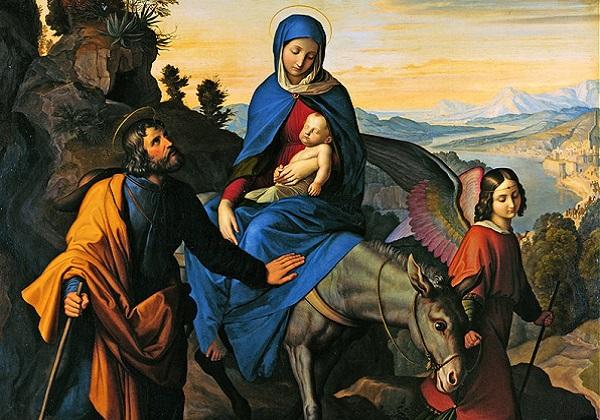 Image result for Uzmi dijete i njegovu majku te bježi u Egipat!