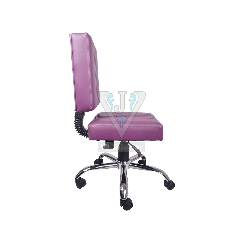 purple task chair mid back the morado study and vj interior