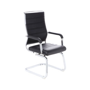 office chair online cream club buy chairs l shop for executive mesh visitor arrotrate medium back fix and revolving in black leahterette