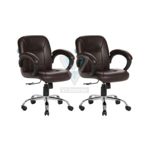 revolving chair hsn code big lots rocking cushions offer zone vj interior buy one get free lowback office brown acabado