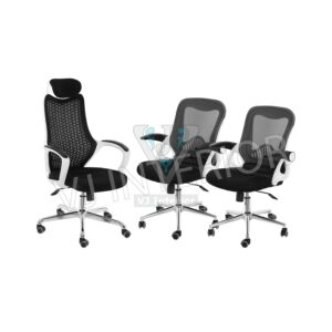 revolving chair hsn code pride power accessories offer zone vj interior mesh high back with 2 lb office set