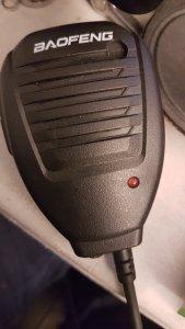 Modified Baofeng Speaker-mic