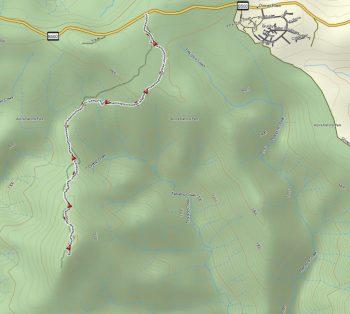 Mt Tabletop track