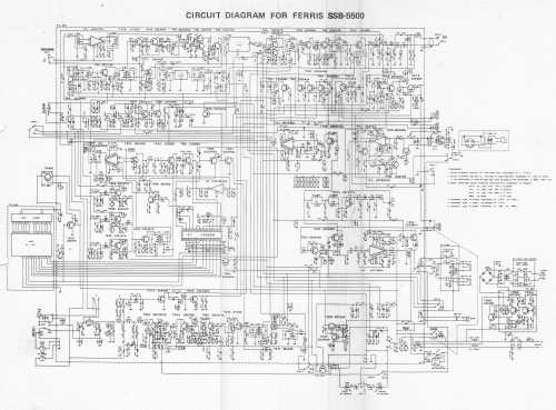 small resolution of ferris ssb 5000 ssb schematic diagram