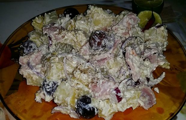 Необикновена картофена салата
