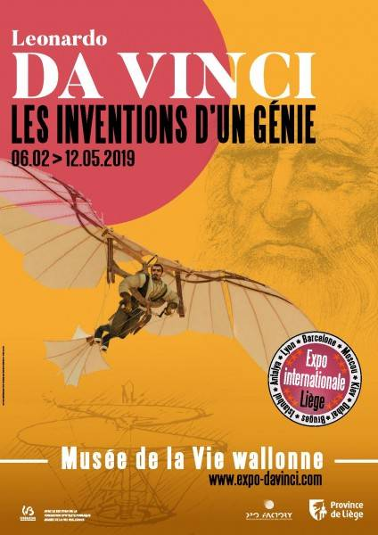 Exposition Da Vinci Liège